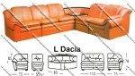 Sofa L Sentra Type L Dacia