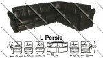 Sofa L Sentra Type L Persia