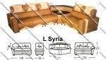 Sofa L Sentra Type L Syria