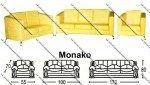 Sofa Minimalis Sentra Type Monako