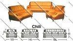 Sofa Tamu Sentra Type Chili