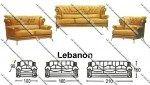 Sofa Tamu Sentra Type Lebanon