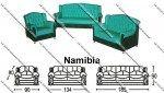 Sofa Tamu Sentra Type Namibia