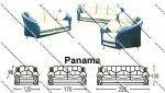 Sofa Tamu Sentra Type Panama