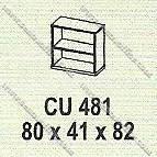 Lemari Arsip Bagian Atas Modera M - Class CU 481
