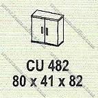 Lemari Arsip Bagian Atas Modera M - Class CU 482