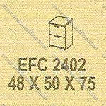 Filling Cabinet 2 Laci Modera E - Class EFC 2402