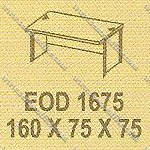 Meja Kantor 1 Biro Modera E - Class EOD 1675