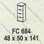 Filling Cabinet 4 Laci Modera M - Class FC 684