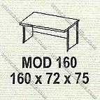 Meja Kantor 1 Biro Modera M - Class MOD 160
