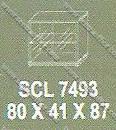 Lemari arsip Bagian Bawah Modera S - Class SCL 7493