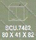 Lemari Arsip Bagian Atas Modera S - Class SCU 7482