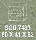 Lemari Arsip Bagian Atas Modera S - Class SCU 7483