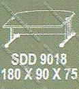 Meja Kantor 1 Biro Modera S - Class SDD 9018