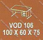 Meja Kantor ½ Biro Modera V - Class VOD 106