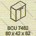 Lemari Arsip Bagian Atas Modera B - Class BCU 7482