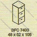 Filling Cabinet 3 Laci Modera B - Class BFC 7403