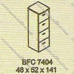 Filling Cabinet 4 Laci Modera B - Class BFC 7404