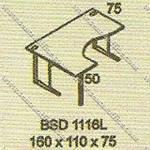 Meja Kantor Executive Modera B - Class BSD 1116L