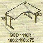 Meja Kantor Executive Modera B - Class BSD 1118R