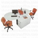 Meja Kantor Modera Office Plus Series Type OPS 2415