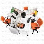 Meja Kantor Modera Office Plus Series Type OPS 2727