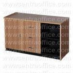 Cradenza 1 Pintu Flexibel 3 Laci 1 Rak Uno Lavender Series Type UCR 8378